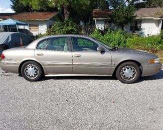 2001 Buick Le Sabre with 75K miles