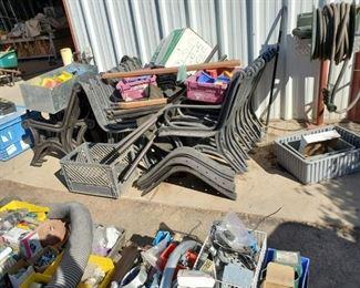 Powder Coated Cast Iron Benches