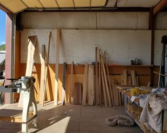 Hardwoods prices marked on end and species