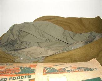 WWII sleeping bag