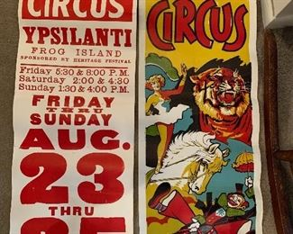 Franzen Bros. Circus Posters