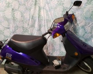 Honda Elite scooter - 1,814 miles