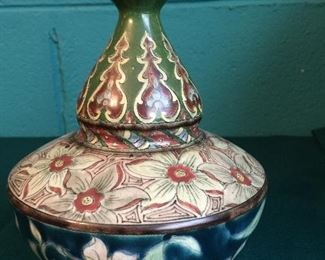 Royal Bonn vase exquisite overall floral design and good color