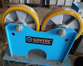 Gentec TR100 turning roll and idler set