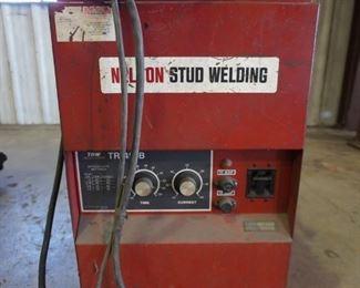 Nelson stud welder