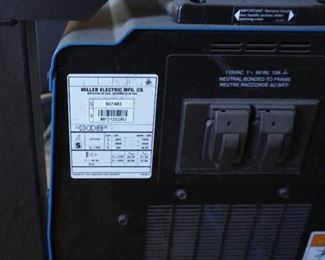 Miller Alumapower 450 MPs with Alumafeed