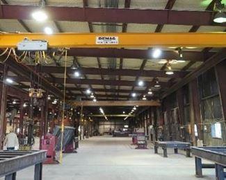 Demag 7.5 ton bridge crane
