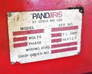 PandJiris 180' weld table