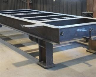 Short weld table
