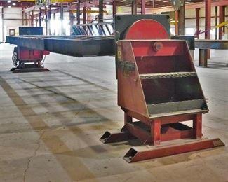 Aronson 180' weld table