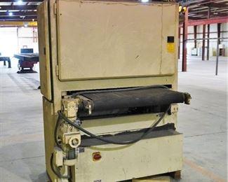 Cemco 1000 wide belt sander
