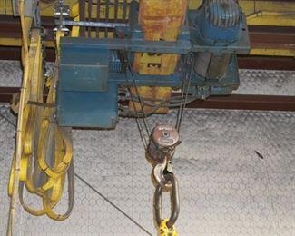 Seco 2 ton bridge crane
