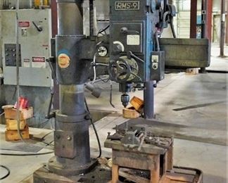 Ikeda RMS-9 radial arm drill