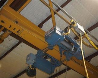 Demag 5 ton bridge crane