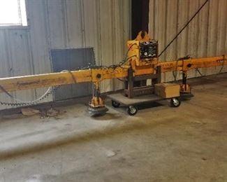 Anver VPS-1S 2-ton sheet lifter