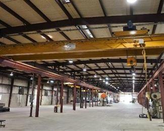 20-ton bridge crane