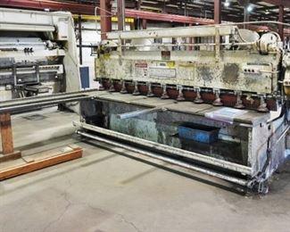 "Cincinnati 1810 power squaring shear - up to 1/4"" mild steel"