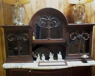 FURNISHINGS, ANTIQUES, GLASSWARE, COLLECTABLES, AND MORE!
