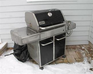 Weber bbq grill, needs gas line