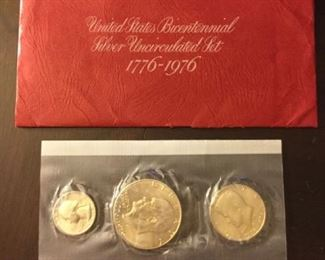 Uncirculated Bicentennial Coin Set #2 https://ctbids.com/#!/description/share/273072