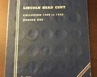 Lincoln Head Cent collection 1909 to 1940 https://ctbids.com/#!/description/share/273074