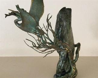 Malcolm Moran Pelican with Fish https://ctbids.com/#!/description/share/273049