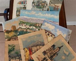 Vintage Watercolors https://ctbids.com/#!/description/share/273060