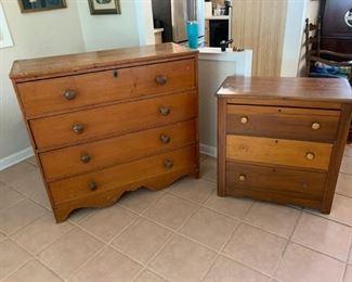 Two Antique Dressers/Bureaus https://ctbids.com/#!/description/share/273054