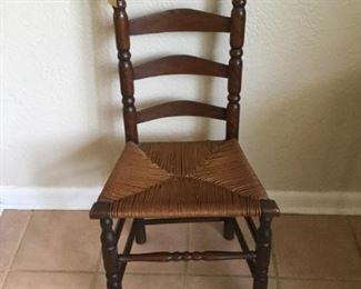 Ladder Back Maple Chair https://ctbids.com/#!/description/share/273059