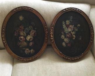 Vintage Oval Oil Paintings https://ctbids.com/#!/description/share/273066