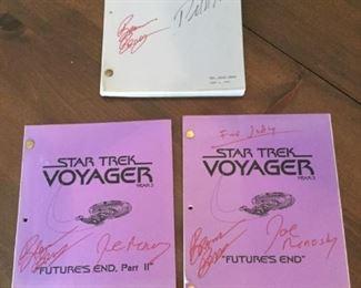 StarTrek Voyager and First Contact Manuscripts https://ctbids.com/#!/description/share/273022