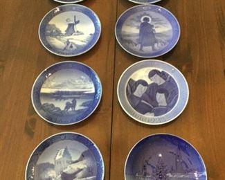 Royal Copenhagen Plates https://ctbids.com/#!/description/share/273031