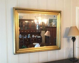 Gold Framed Mirror https://ctbids.com/#!/description/share/273029