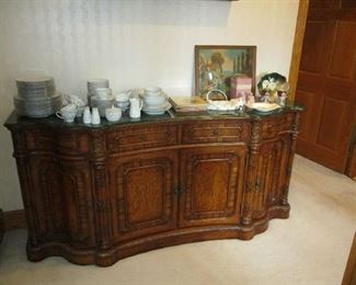 Marble top Buffet / server