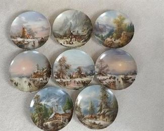 German countryside collector plates