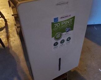 70 pint dehumidifier