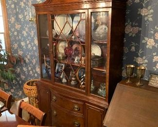 Wedgewood China cabinet