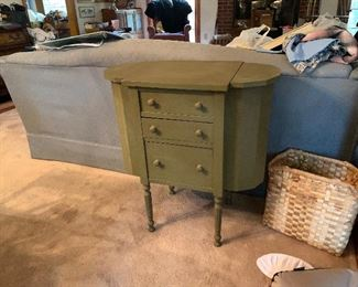 Martha Washington sewing cabinet, NICE!