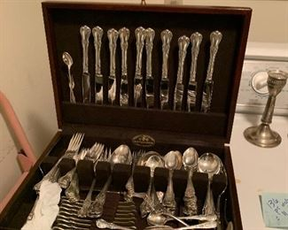 Sterling Towle Old Master silverware set, over 100 pieces!!!
