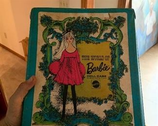 1960s Barbie case