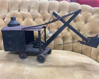 Old Steelcraft Marion Steam Shovel Toy