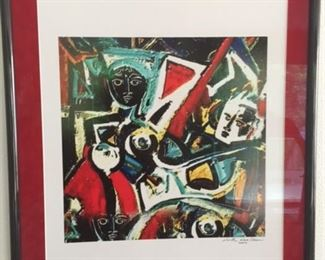 signed lithograph Neith Nethelson