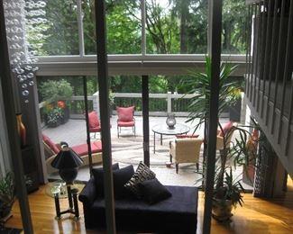 Thommy Bahamas patio set with cushings