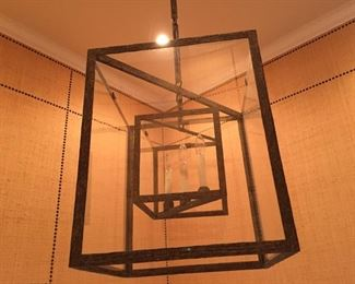 Holly Hunt Cube Lantern