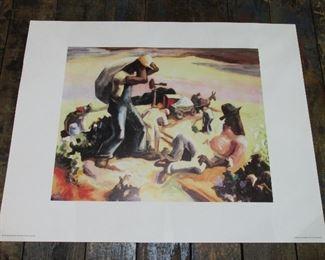 Thomas Hart Benton print