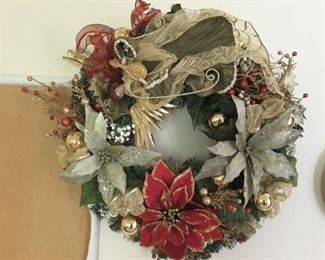 Beautiful Christmas Wreath - perfect for your Door or above your Fireplace Mantle.