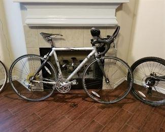 Trek 2100 bicycle with profile handlebars and  Shimano index shifting