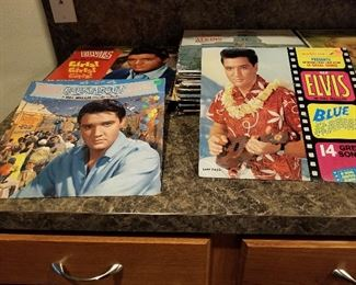 Lots of vinyl, Elvis Presley and many more