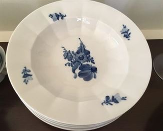 "Royal Copenhagen china (""Blue Flowers "")"