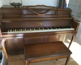 Spinet piano-Hardman